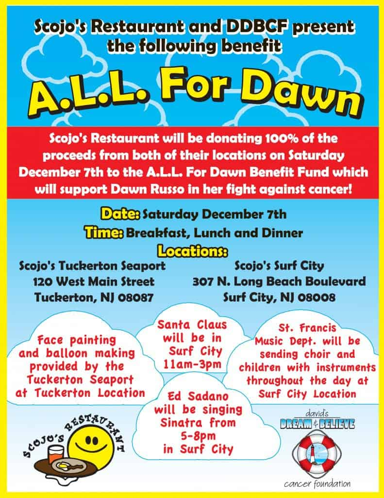 A.L.L. FOR DAWN BENEFIT