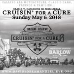 6th Annual Frank V. Panzone Jr Memorial Cruisin' for a Cure