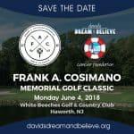 3rd Annual Frank A. Cosimano Memorial Golf Classic