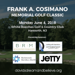 3rd Annual Frank A. Cosimano Memorial Golf Classic Wrap-Up