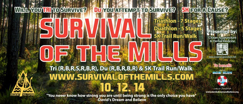 Survival of the Mills presented by Ocean Acupuncture & Herbal