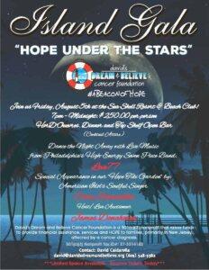 "Island Gala - ""Hope Under The Stars"""