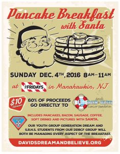 Pancake Breakfast with Santa